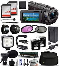 Sony FDR-AX33 4K Ultra HD Handycam Camcorder Video Camera +