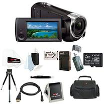 Sony HDR-CX405/B 9.2MP Video Recording Camcorder with 29.8mm