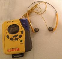 Sony Sports Auto Reverse Radio Cassette Player Am/fm Walkman