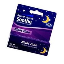 SOOTHE NIGHT TIME EYE OINT B&L 3.5 GM