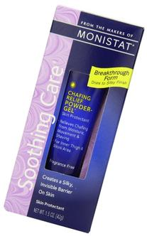 Monistat Complete Care Chafing Relief Powder Gel, 1.5 OZ