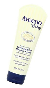 Aveeno Baby Soothing Relief Moisturizing Cream with Natural