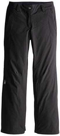 Spyder Women's Soul Pant, Black, 10-Regular