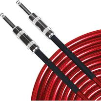 Live Wire Soundhose Instrument Cable Red 10 Feet