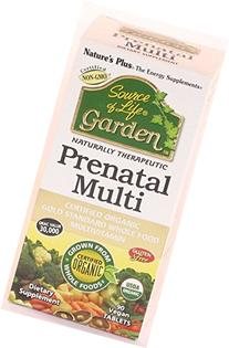 Source of Life Garden Organic Prenatal Nature's Plus 90 Tabs