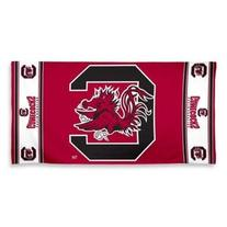 NCAA South Carolina Gamecocks Fiber Reactive Beach Towel