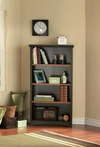 South Shore Furniture Gascony Collection 4-Shelf Bookcase,