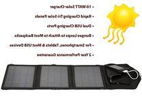 Opteka SP-10W Universal 10-WATT Triple-Panel Rapid Solar