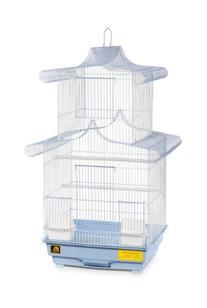 Prevue Hendryx SP1820-5 Pagoda Cockatiel Cage, Blue and