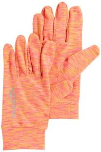 Saucony Women's Space-Dye Run Gloves, Vizipro Coral, X-Large