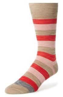 Men's Paul Smith Spaceman Stripe Socks, Size One Size -
