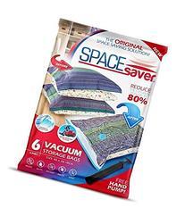 SpaceSaver PremiumJUMBO Vacuum Storage Bags  Double-Zip Seal