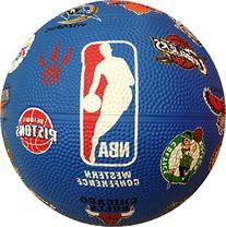 "Spalding 7"" Mini NBA Teams Basketball"