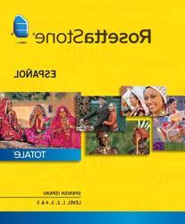 Rosetta Stone Spanish  Level 1-5 Set for Mac