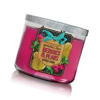 Bath Body Works Sparkling Berries & Pears 3-Wick Scented