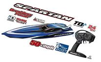 Traxxas 57076-4 Spartan Brushless 36 RTR Vehicle with TQi 2.
