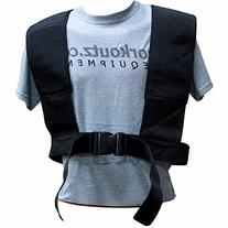 Workoutz Speed Harness  with Dual Pulling Straps for Power