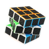 Professional Speed Magic Cube Carbon Fibre Stickers 3x3,