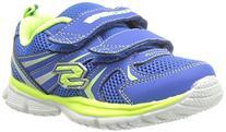 Skechers Kids 95083N Speedees - Burn Outs Sneaker,Blue/Lime,