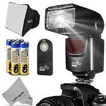 Altura Photo AP-UNV1 Bundle – DSLR Camera Flash Speedlite for Canon Nikon Sony