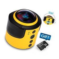 JoyPlus 360 Degree Spherical Panorama VR Camera with 16GB