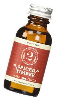 Spiced Timber Beard Oil - Pine & Cinnamon - Essential Oil
