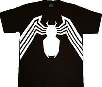 Spider-man Venom Spider Legs Black Youth T-shirt Tee