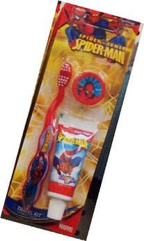 Spiderman Toothbrush Kit