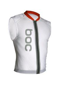 POC Spine VPD Vest Body Armor, White, XX-Small/Regular