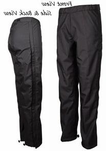 Equine Couture Women's Spinnaker Rain Shell Pant, Black, 30