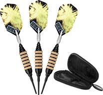 Viper Spinning Bee Soft Tip Darts with Casemaster Storage/