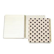 kate spade new york Large Spiral Notebook - Black Décor