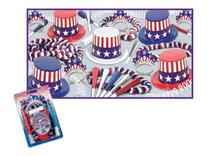 Spirit Of America Clear-View Asst for 10 Party Accessory