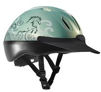 Troxel Spirit Graphic Dreamscape Helmet, Mint, Medium