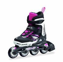 Rollerblade Girls Spitfire JR XTG 2016 Kids Skate, Black/