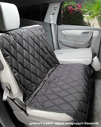 4Knines Regular Split Rear Seat Waterproof Non-Slip Cover
