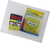 Spongebob Squarepants Cold Boo Boo Pack Plus Spongebob Glow