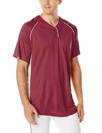 Wilson Sporting Goods Double Bar Mesh 2-Button Jersey, Adult