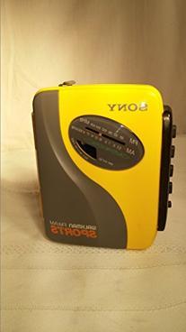 Sony SPORTS Walkman Portable Cassette Auto Reverse Tape