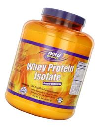 NOW Foods Sports Whey Protein Isolate Natural Unflavored -- 5 lbs