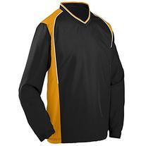 Augusta Sportswear Men's Roar Pullover L Black/Gold/White