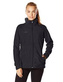 Columbia Women's Dotswarm II Fleece Full Zip Jacket, Black,