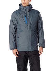 Columbia Men's Powderkeg Interchange Jacket, Graphite/Hyper