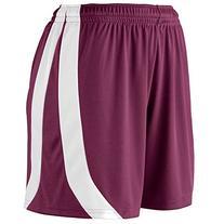 Augusta Sportswear WOMEN'S TRIUMPH SHORT S Maroon/White