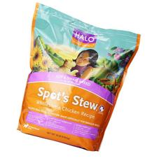Halo Spot's Stew Holistic Dry Dog Food, Wholesome Chicken,