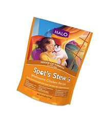Halo Spot's Stew Holistic Dry Cat Food, Wholesome Chicken, 6