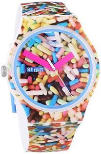 Swatch Sprinkled Graphic Dial Plastic Silicone Quartz Men's