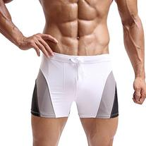 Baleaf Men's Square Leg Swimsuit Gradient Style