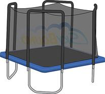 13' Square Replacement Trampoline Pad