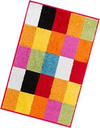 Well Woven Squares Soft Multi Geometric Accent Area Rug, 1-